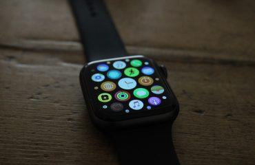 Iwatch on wrist